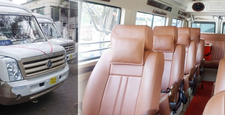 7 Seater Tempo Traveller Hire in Delhi, Booking 7 Seater tempo traveller hire