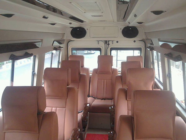 8 Seater tempo traveller hire In Delhi