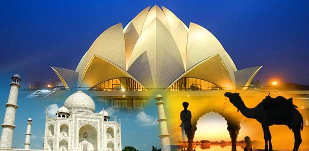 5 Night 6 Days Golden Triangle Tour, Golden Triangle Grour Tour Package