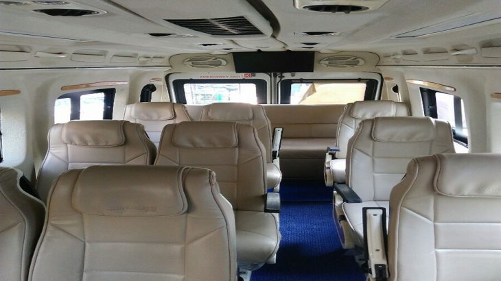 15 Seater Tempo Traveller, Force tempo traveller