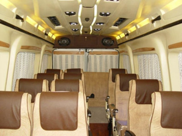 7 Seater Tempo Traveller Hire On Rent In Delhi Luxury