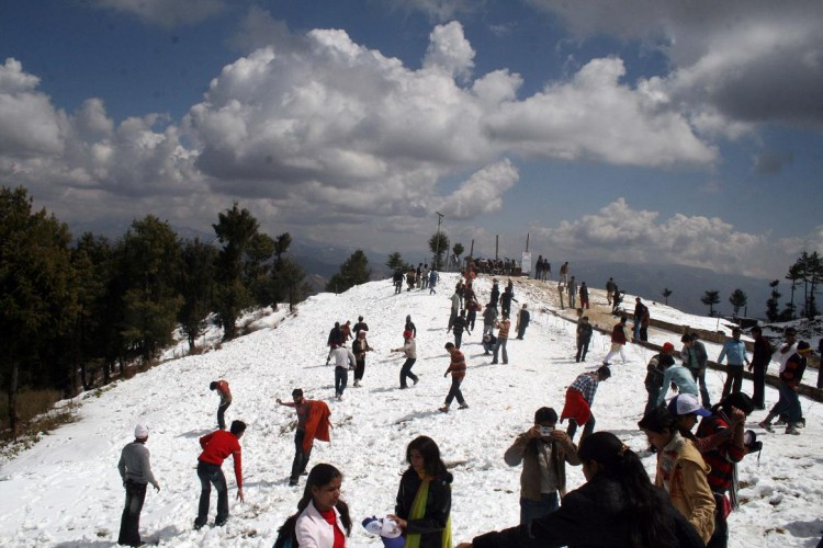 Tour package from Delhi to Shimla